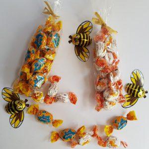 סוכריות דבש ושוקולד