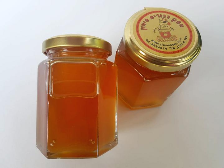 דבש טהור בצנצנת זכוכית 250 גרם