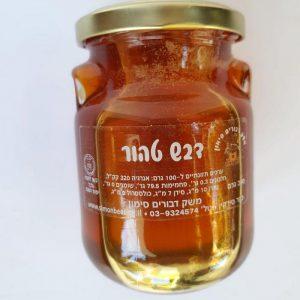 דבש טהור בצנצנת אוזן 350 גרם