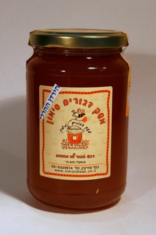 דבש טהור בצנצנת