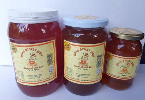 סוגי דבש טהור בגדלים שונים